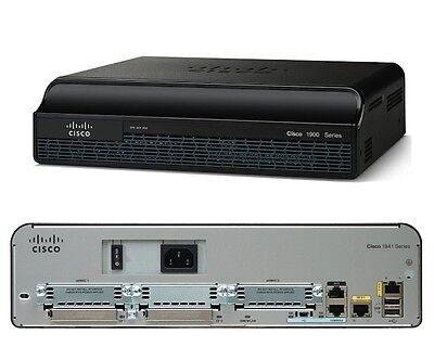 Brioso €599+iva Cisco 1941/k9 Router Isr 2xgigabit Ethernet 512mb Dram New Sealed Crease-Resistenza