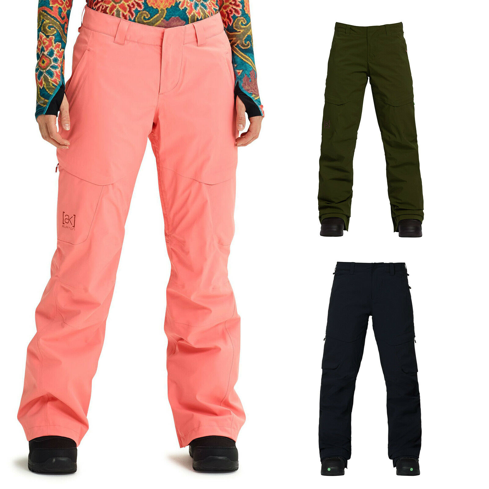 Burton AK Gore-Tex Summit Isolerade kvinnor Snowboard Pants Salopettes Funktion Pants