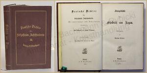 Eitner-Deutsche-Dichter-des-17-Jahrhunderts-3-Bd-Sinngedichte-1870-Belletristik