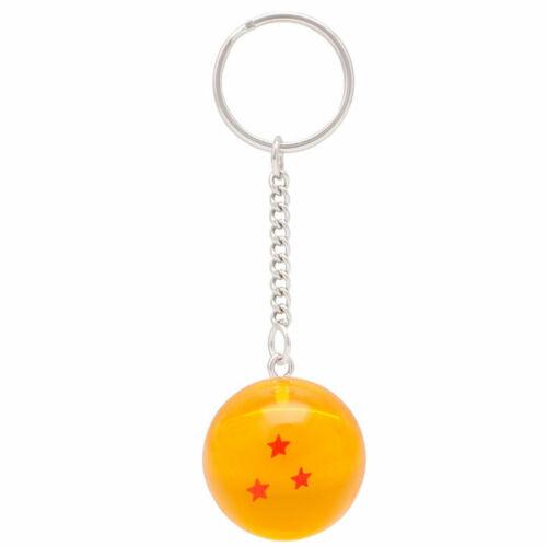Cosplay Hot Dragon Ball Z DBZ Crystal Ball 7 Estrellas Llavero Colgante KeyChain