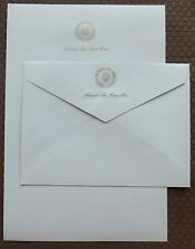 Reagan Vintage Air Force One Official Stationary as used by Pres Reagan on AFO