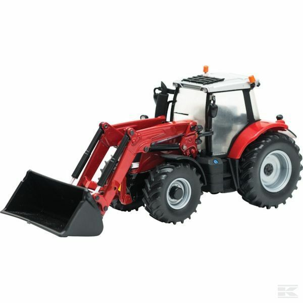 Britains Massey Ferguson 6613 With Loader 1 32 Scale Model Tractor Collectable