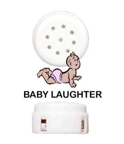 Baby Laughter Sound Module Device Insert for Make Your Own Stuffed Animals and C