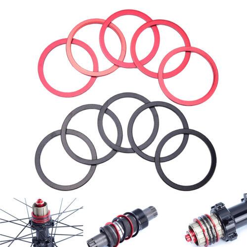 5Pcs Bikes Flywheel Washer Bottom Bracket Center Axis MTB Bicycle Hub Spacer PR