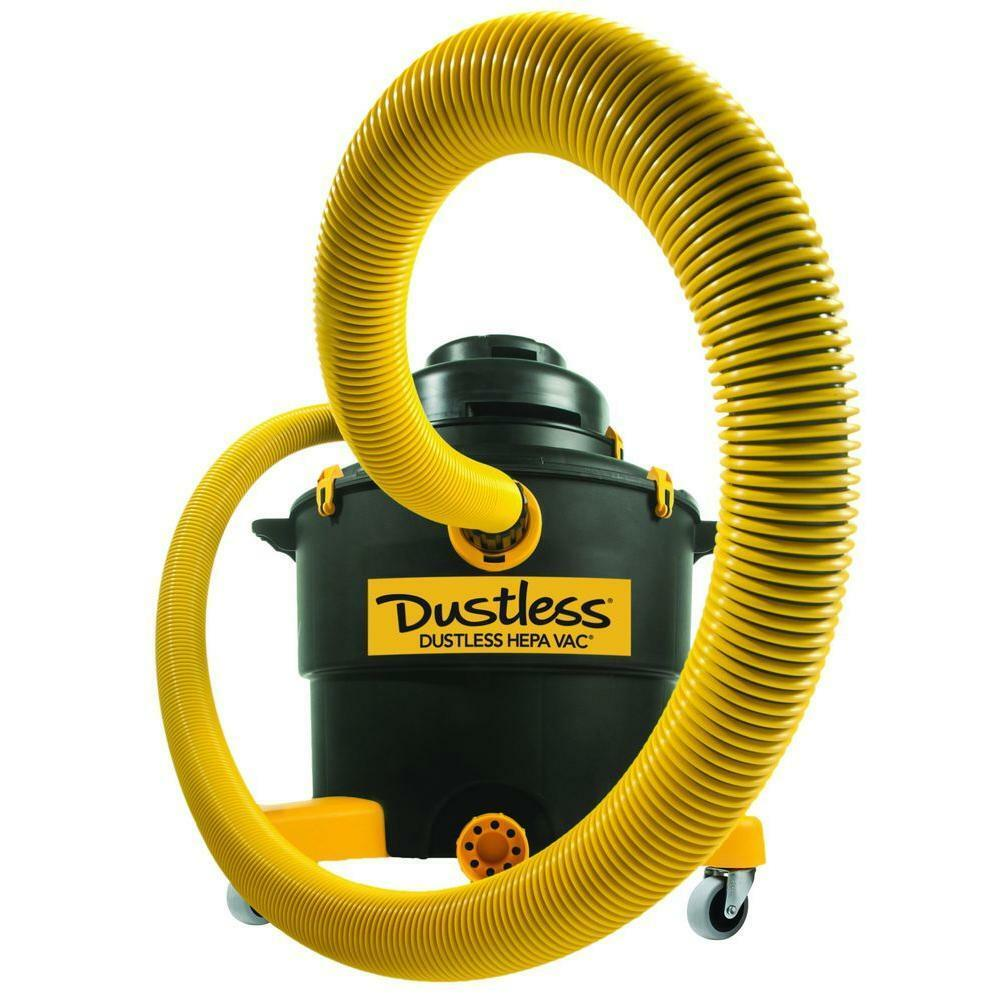 Dustless Technologies Vacuum Wet Dry DustlessVac HEPA Oversized Filters 16 Gal.