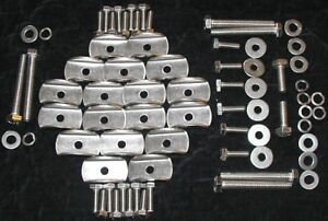 VW-Type3-Variant-Chassis-Pan-To-Body-Stainless-Bolts-Washers-Squareback-Fastback