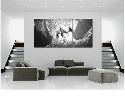 Lover Poster Kiss Abstract Art Paint Wall Mural Picture Printing Bedroom Decor