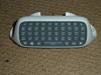 MICROSOFT XBOX 360 OFFICIAL LIVE CHATPAD CLIPON CONTROLLER KEYBOARD KEY CHAT PAD