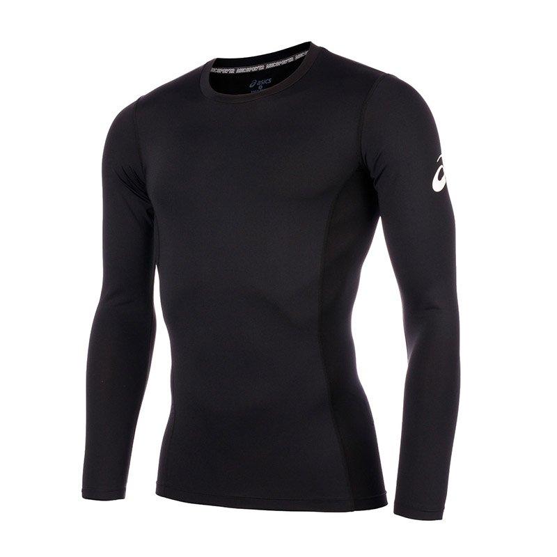 Asics Mens Long-Sleeved T-Shirt Baselayer Compresssion T-Shirt - New
