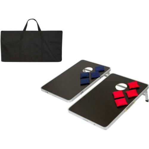 Details about  /New Foldable Bean Bag Toss Cornhole Game Set Boards Tailgate Regulation Sports