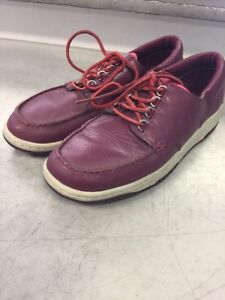 RARE? Nike Mad Jibe Moc Toe Premium SB Red Oxide Men's  Sz 11.5 313264-661