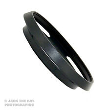 37mm Metal Lens Hood for Olympus M.ZUIKO DIGITAL ED 14‑42mm 1:3.5‑5.6 EZ. Black.