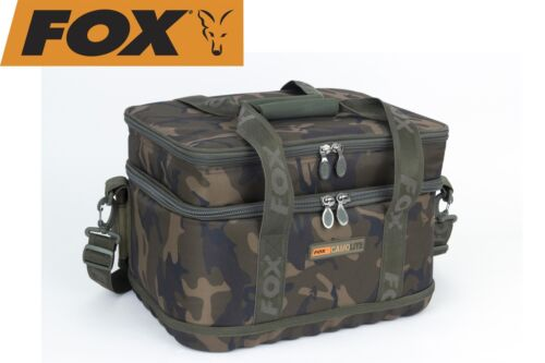 isolierte Angeltasche Fox Low Level Coolbag Ködertasche Camolite Kühltasche