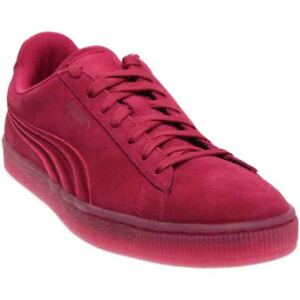 Puma-Suede-Classic-Badge-Iced-Casual-Sneakers-Pink-Mens
