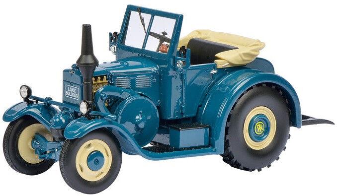 SCH8961 - Tracteur LANZ Eilbulldog version routière cabriolet - 1 32