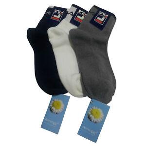 FILA-Sock-Short-Sponge-33-Amicor-Plus-33-Cotton-34-Polyamide