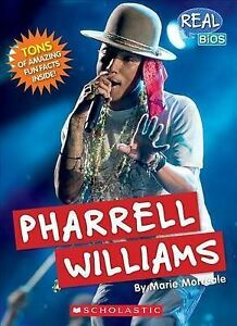 PHARRELL-WILLIAMS-by-MARIE-MORREALE-Paperback-book-2015