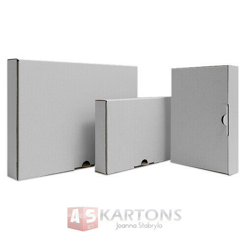 Postkartons  160x110x50mm Qualitätswelle AS60002 50 Maxibriefkartons Versand