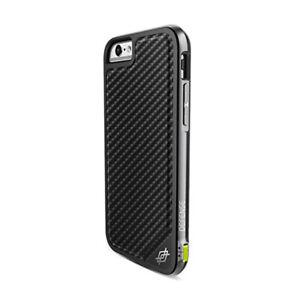 x-doria-Defense-Lux-Carbon-Case-Schwarz-fuer-Apple-iPhone-6-6S-Cover-Schutzhuelle