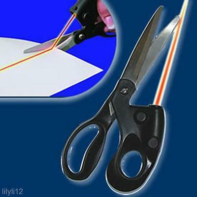 Professional Positioning Straight Fast Cut Clothes Fabric Laser Guided Scissor