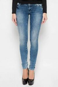 MéThodique Jeans Skinny Donna Mexx Mx3026873 Blu Denim Misura W27 32l - It 41 Couleurs Fantaisie