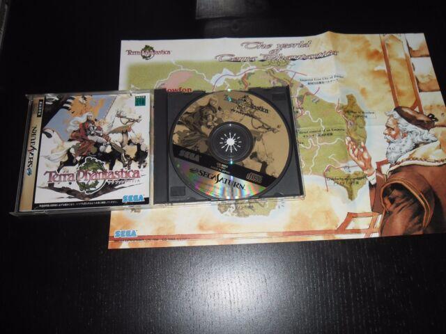 TERRA PHANTASTICA-SEGA SATURN japan game