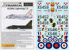 Xtradecal 1//72 X72200 EE//BAC Lightning T.4//T.5 Decal Set part 1
