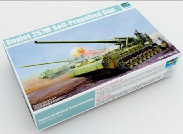 ◆ Trumpeter 1/35 05592 Soviet 2S7M Self-Propelled Gun