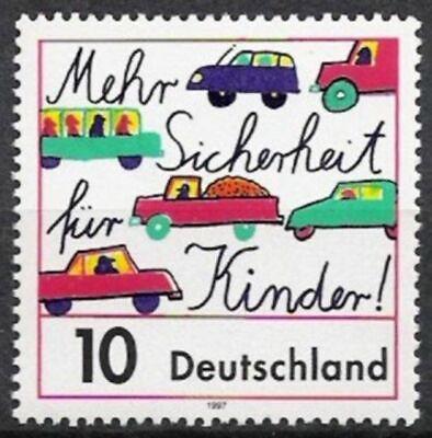 Humor Bund Nr.1954 ** Kinder Im Straßenverkehr 1997, Postfrisch