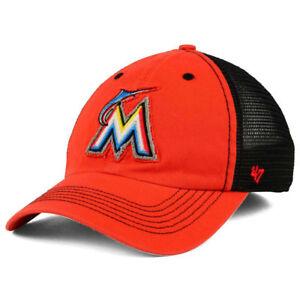 wholesale dealer b007e 0f316 Image is loading Miami-Marlins-MLB-039-47-Brand-Taylor-Closer-