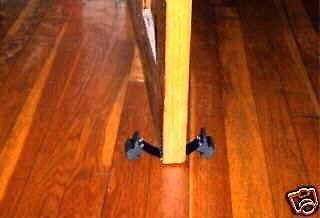 FLEXIBLE DOOR HOLDER DOORSTOP ~  THAT REALLY WORKS