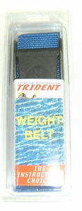 Scuba Diving Dive Weight Belt 58in Equipment Blue WB36 BL