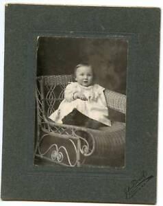 Vintage Photo-Baby Sitting-Valley City North Dakota-JA Tweit Photographer