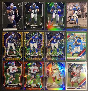 2019-20-Panini-Prizm-Football-New-York-Giants-LOT-TIKI-Barber-83-99-Tate-amp-MORE