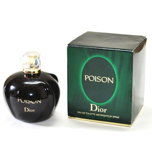 POISON 100ml EDT  Spray Perfume For Women   By  CHRISTIAN DIOR