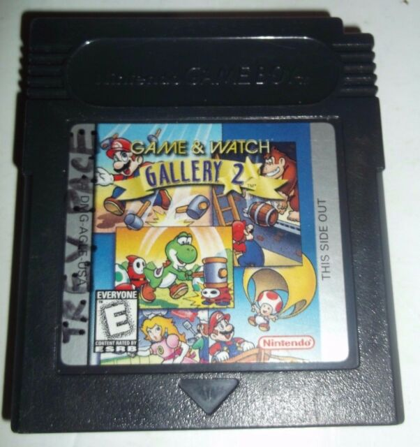 Game /u0026 watch gallery 2 game boy color thousand islands casino poker tournaments