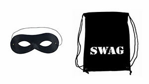 Image Is Loading World Book Day Robber Gangster Granny Swag Bag