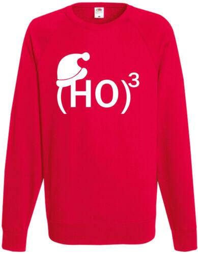 Ho 3 Lustige Weihnachten Sweatshirt Santa Ho Weihnachtsgeschenk Pullover