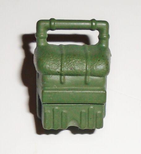 GI Joe accessory 2001 Double Blast   2002 Duke      Green Heavy Machine Gun Pack