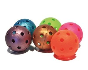 FLOORBALL UNIHOCKEY 10 x Official balls by EXEL various colors