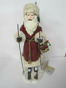 Bethany-Lowe-Father-Christmas-On-Skis-LC6441-New