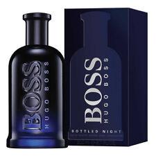 Hugo Boss Bottled Night Eau de Toilette 200ml EDT Spray Brand New Boxed & Sealed