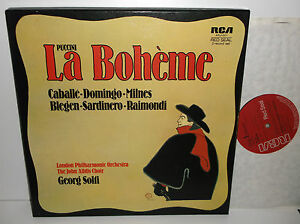 ARL2 0371 Puccini La Boheme Caballe Domingo Milnes London Philharmonic Solti - <span itemprop='availableAtOrFrom'>South East, United Kingdom</span> - Returns accepted Most purchases from business sellers are protected by the Consumer Contract Regulations 2013 which give you the right to cancel the purchase within 14 days after the d - South East, United Kingdom