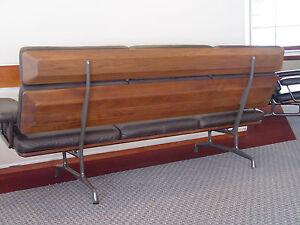 Image Is Loading Rare Herman Miller Charles Eames Sofa Wood Parts