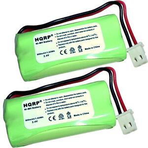 2X-HQRP-Telephone-Batterie-Pour-V-Tech-BT162342-BT262342-2SNAAA70HSX2F