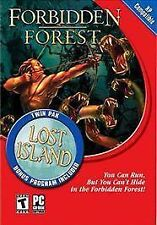 Forbidden Forest / Lost Island Twin Pak PC 2003 pack Brand NEW rare vintage game