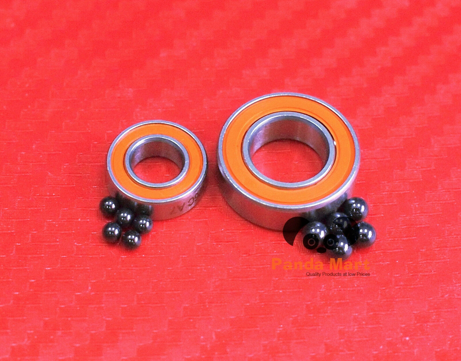 Hybrid  Ceramic Ball Bearings Fits QUANTUM TE 1161PT (COMPLETE) - ABEC-7 Bearing  high quality & fast shipping