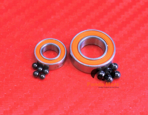 Hybrid Ceramic Ball Bearings Fits ABU GARCIA MORRUM ZX 3601 ABEC-7 Bearing