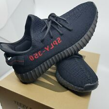 997fdb70b adidas Yeezy Boost 350 V2 Black  Core Red Bred Mens 100 Authentic 7 ...