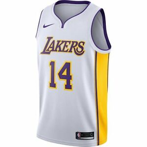 huge selection of c1a51 eeaec Details about Nike Brandon Ingram Swingman Jersey (LA Lakers) Association  Edition Size L XL